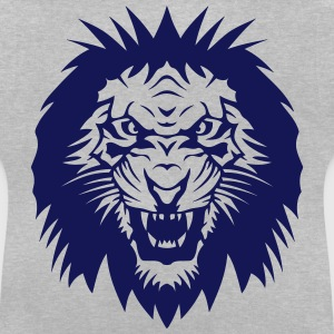 Lion Super Tribal Mouth Jungle King 5 Shirts - Baby T-Shirt