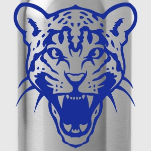 Leopard open mouth 3003 T-Shirts - Water Bottle