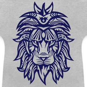 Lion Super Tribal Mouth Jungle King Shirts - Baby T-Shirt