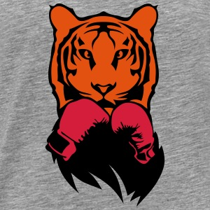 Tiger boxer glove boxing Long Sleeve Shirts - Men's Premium T-Shirt
