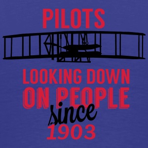 Pilots looking down Bags & Backpacks - Men's Premium T-Shirt