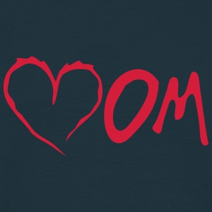mom heart love Tabliers - T-shirt Homme