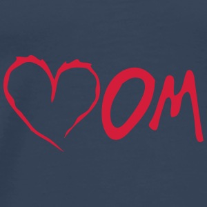 mom heart love  Tops - Men's Premium T-Shirt