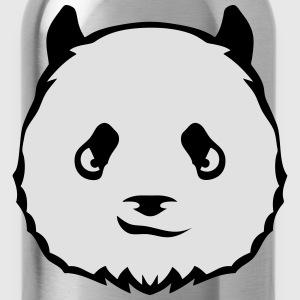 Panda head 2503 T-Shirts - Water Bottle