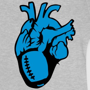 football americain rugby Heart Balloon Life Shirts - Baby T-Shirt