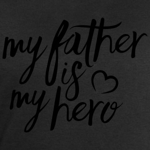 My father is my hero T-Shirts - Men's Sweatshirt by Stanley & Stella