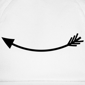 Left arrow T-Shirts - Baseball Cap