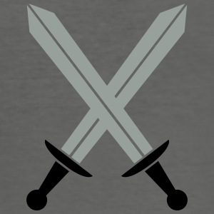Crossed swords Bags & Backpacks - Men's Slim Fit T-Shirt