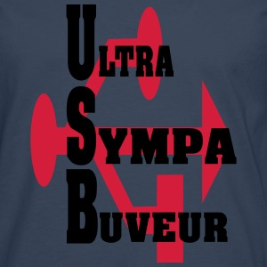 ultra SYMPA BUVEUR Tee shirts - T-shirt manches longues Premium Homme