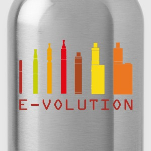 Vape Design Color Ecigs T-Shirts - Water Bottle