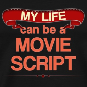 Movie script Mugs & Drinkware - Men's Premium T-Shirt
