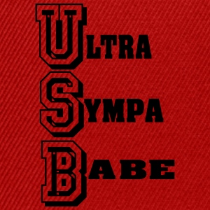 ultra sYMPA BABE 2 Tee shirts - Casquette snapback