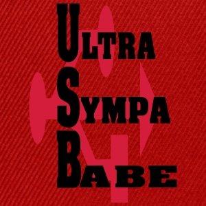ultra sYMPA BABE Tee shirts - Casquette snapback