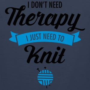 Therapy - Knit T-Shirts - Männer Premium Tank Top