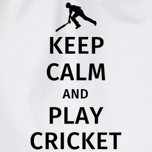 keep calm and play cricket T-shirts - Gymnastikpåse