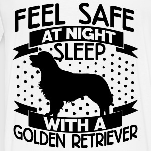 Feel safe at night - Retriever Jackets & Vests - Men's Premium T-Shirt