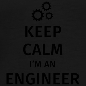 Keep Calm I'm an Engineer Mugs & Drinkware - Men's Premium T-Shirt