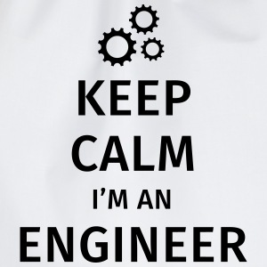 Keep Calm I'm an Engineer Camisetas - Mochila saco