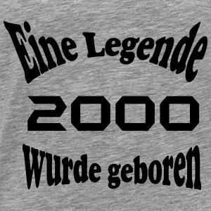 Legende 2000 Tops - Männer Premium T-Shirt