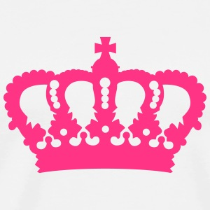 Crown King Queen Prinz Princess Royal pink Long Sleeve Shirts - Men's Premium T-Shirt