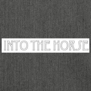scritta_into_the_horse - Borsa in materiale riciclato