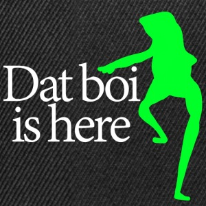 Dat boi shirt white writing - men - Casquette snapback