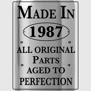 made in 1987 birthday T-Shirts - Trinkflasche