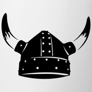 Viking helm T-shirts - Mok