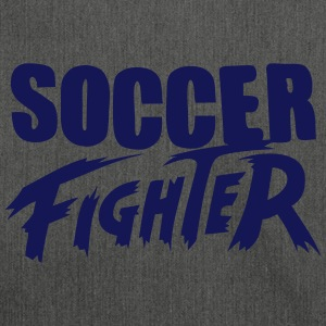 soccer fighter Tee shirts - Sac bandoulière 100 % recyclé