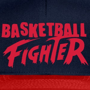 Basketball-Kämpfer T-Shirts - Snapback Cap