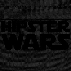 Hipster Star Wars Shirt Black/Yellow - Kinder Rucksack