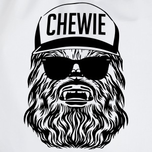 Start Wars Chewbacca Hipster Shirt gray/black - Turnbeutel