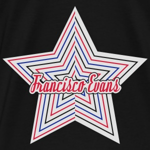 Francisco Evans Star Collection 01 Pullover & Hoodies - Männer Premium T-Shirt