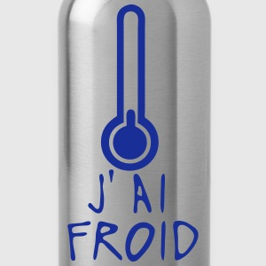 j ai froid thermometre citation Tee shirts - Gourde