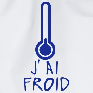 j ai froid thermometre citation Tee shirts - Sac de sport léger