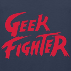 geek fighter Camisetas - Tank top premium hombre
