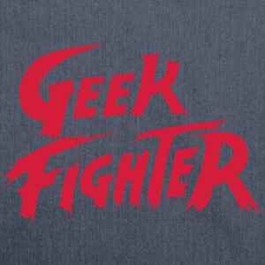 geek_fighter T-Shirts - Schultertasche aus Recycling-Material