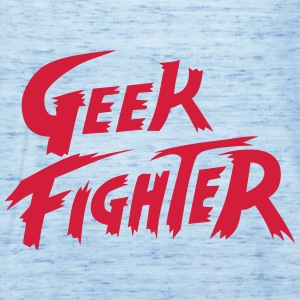 geek_fighter T-Shirts - Frauen Tank Top von Bella
