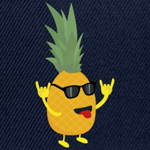 rock'n'roll pineapple Shirts - Snapback Cap