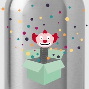 clown in a box T-Shirts - Water Bottle