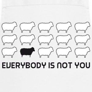 everybody is not you T-shirts - Förkläde
