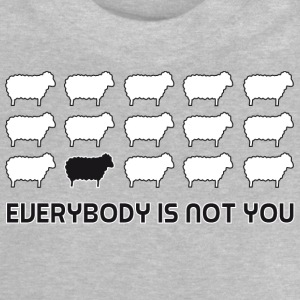 everybody is not you Camisetas - Camiseta bebé