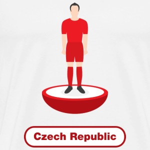 Czech Republic football  - Men's Premium T-Shirt