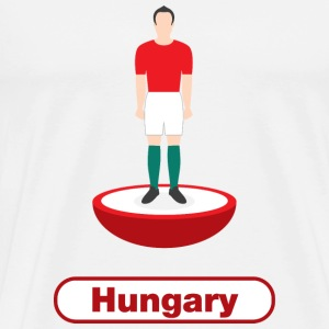 Hungary football  - Men's Premium T-Shirt