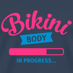 Bikini Body In Progress... Tops - Mannen Premium T-shirt