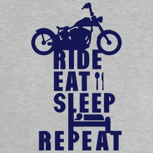 Biker ride eat sleep repeat   Shirts - Baby T-Shirt