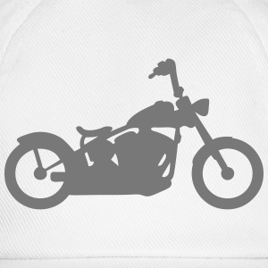 Motorcycle old large handlebar T-Shirts - Baseball Cap