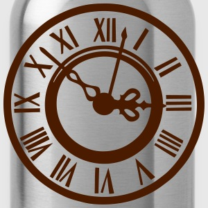 Old clock 2103 Shirts - Water Bottle
