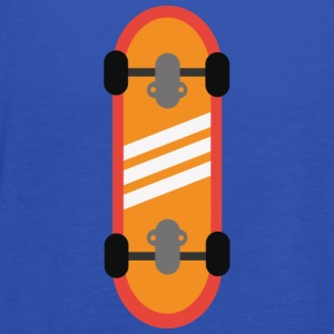 Orange skateboard T-skjorter - Singlet for kvinner fra Bella