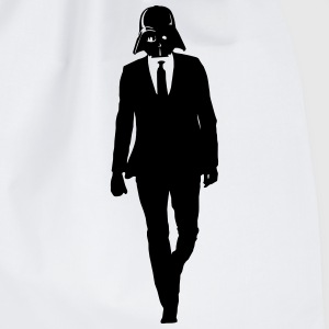 Start Wars Darth Vader Suit Shirt grey/black - Turnbeutel